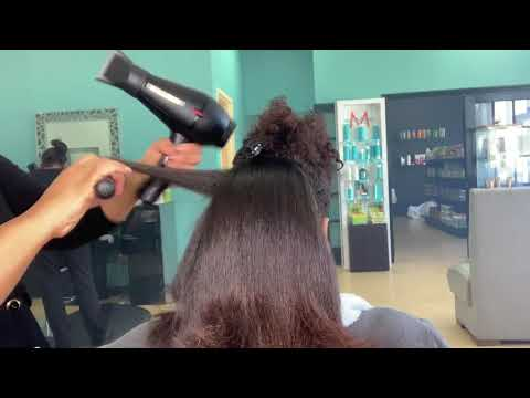 Dominican Hair Salon By Marlyn - Natural Hair Blow-out