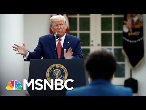 Trump Shifts Coronavirus Response Responsibility To States   The 11th Hour   MSNBC