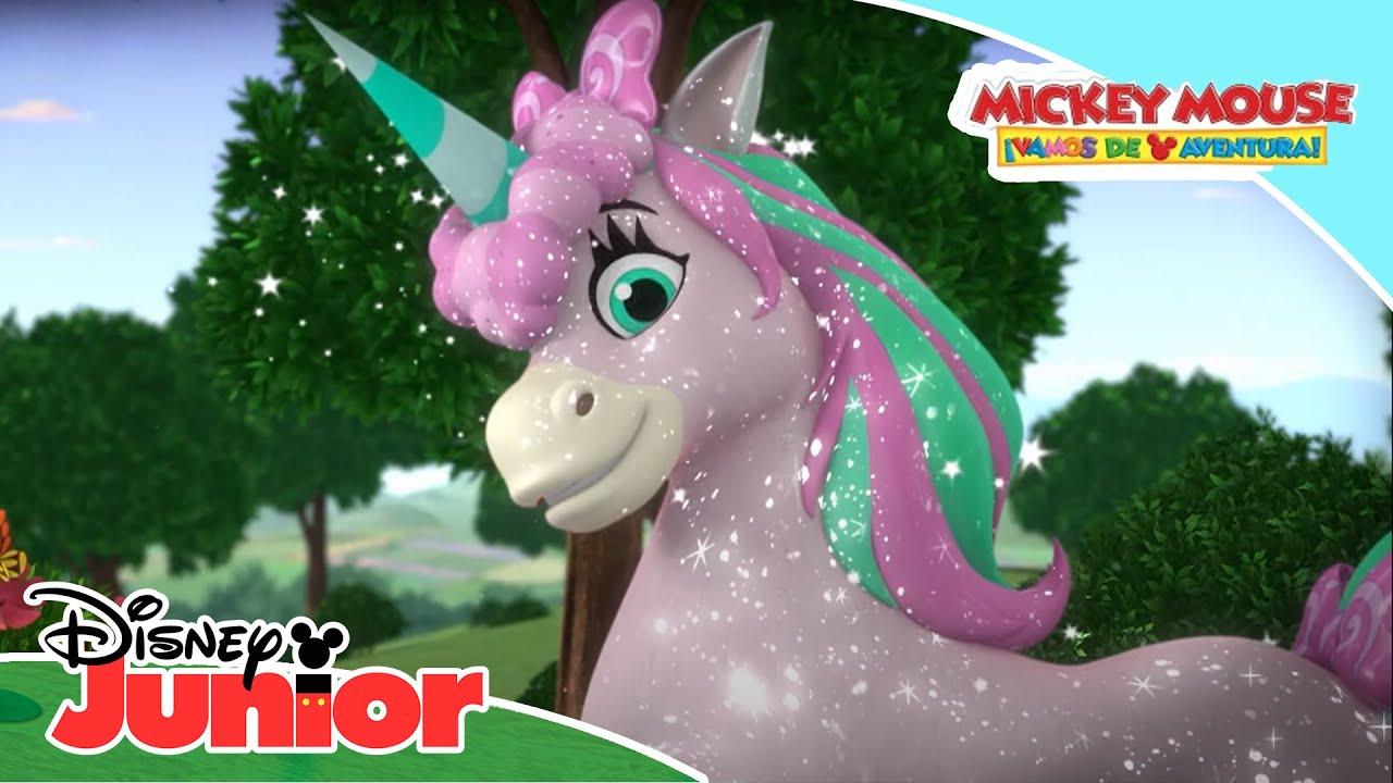 Mickey Mouse ¡Vamos de aventura!: Momentos mágicos - El unicornio | Disney Junior Oficial
