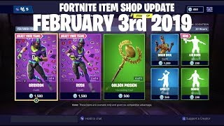 Fortnite Item Shop Update New New Air Horn Emote and NFL Skins are Back February 3rd 2019 [2-3-19]