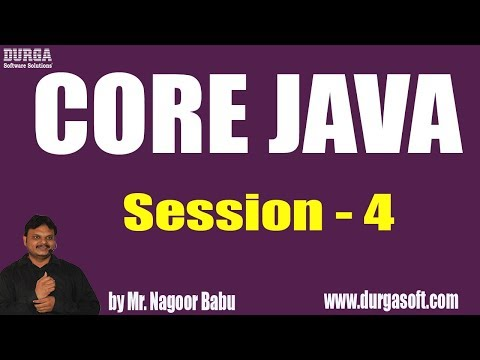 core-java-tutorials-||-session---4-||-by-mr.-nagoor-babu-on-15-05-2019