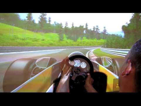 rFactor McLaren M23 onboard superfov