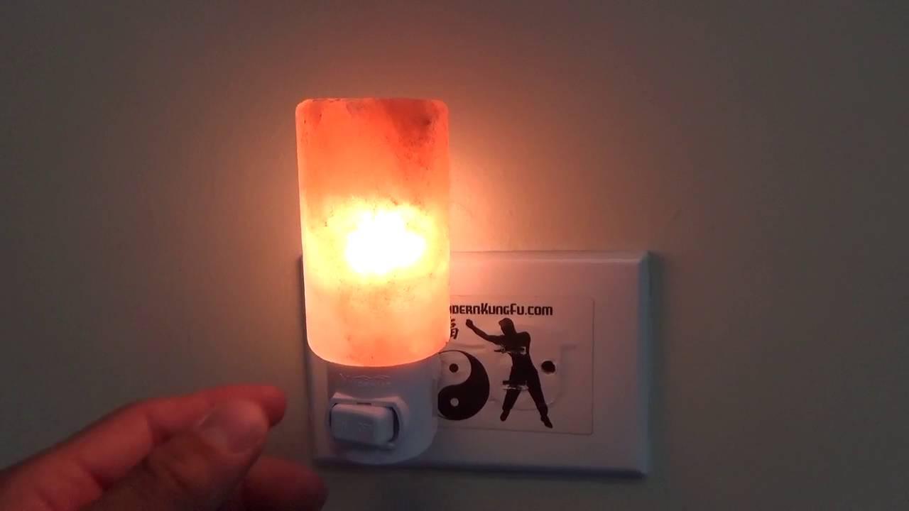 Himalayan Salt Lamp Night Light Youtube