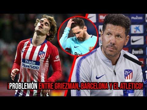¡Tremendos problemas entre Griezmann, Barcelona y el Atlético de Madrid!