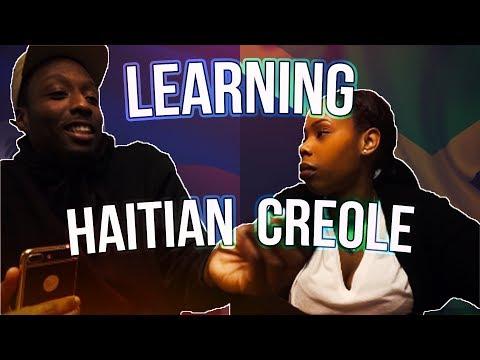 Jamaican Learns Haitian Creole