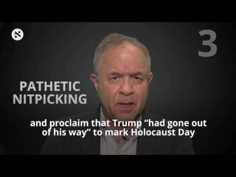 Adding Insult to Injury, Trump Flirts With Classic Holocaust Denial
