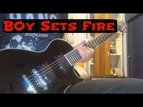 Boy Sets Fire - Last Year's Nest (Guitar Cover)