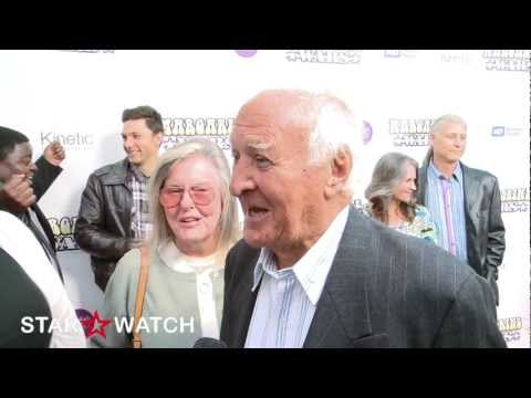 "Robert Loggia red carpet interview at ""Margarine Wars"" premiere"