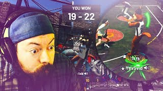 99 OVERALL EXPOSES WHY PARK IS DEAD IN NBA 2K19! MASCOT GAMEPLAY AT THE UNDER ARMOUR CAGES!
