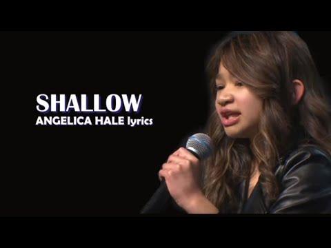 Angelica Hale Lyrics - Shallow - Lady GaGa