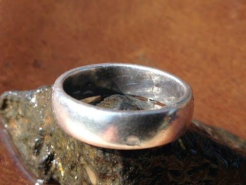 River Metal Detecting: .925 Silver Ring!