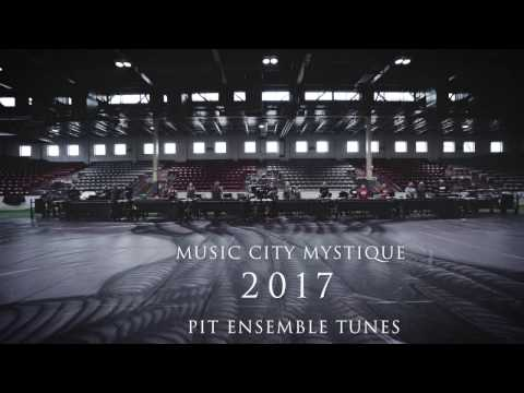Music City Mystique 2017 Pit Ensemble Tunes