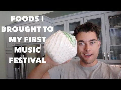Preparing Healthy Food For My First Music Festival (VLOG)