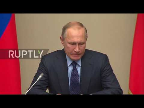 Russia: Putin holds Security Council meeting on Normandy Four outcomes