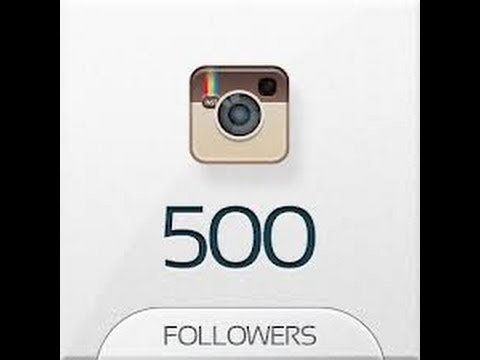 how to get 500 instagram followers fast