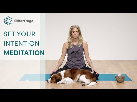 5 minutes to set a daily intention Meditation with Esther Ekhart