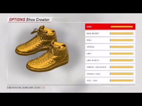663cead19d1181 NBA 2K18 Shoe Creator - Don C Air Jordan 2 Custom