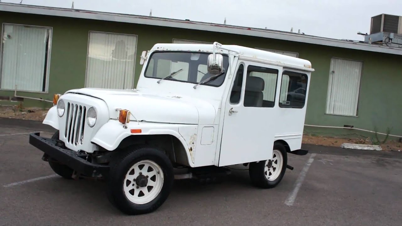 79 Mail Jeep CJ7 CJ5 AMC For Sale - YouTube