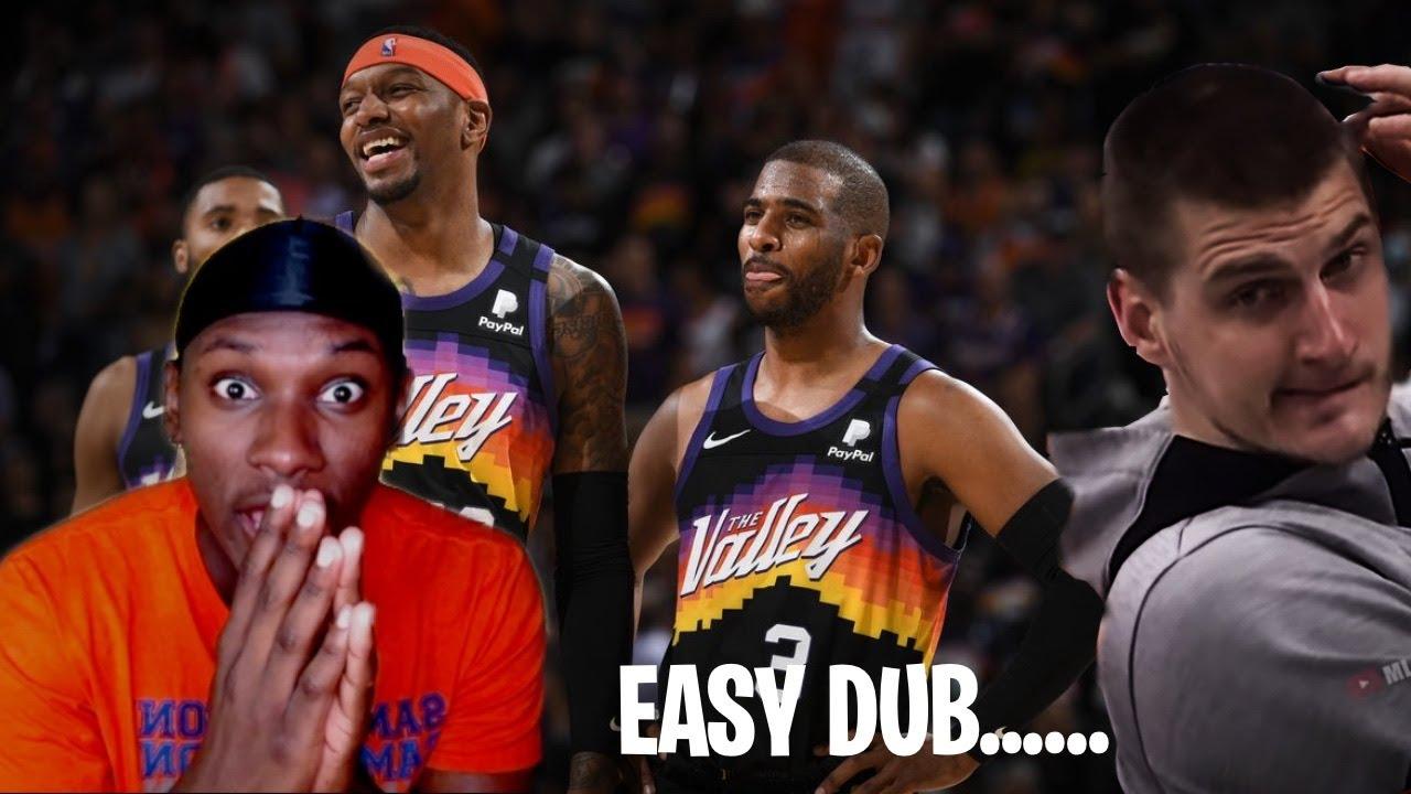 WE WHEELIN AND DEALIN 😏..........Phoenix Suns vs Denver Nuggets Full GAME 2 Highlights