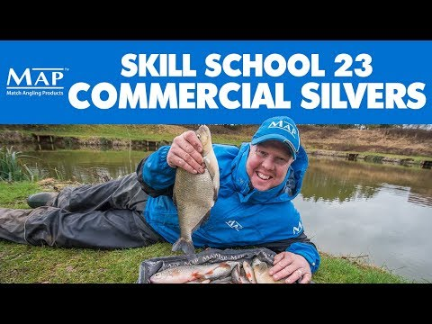 Skill School... Part 23 Silver Fish In Commercials - Andy May - Match Fishing