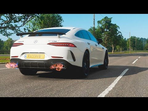 Forza Horizon 4 Mercedes AMG GT 4 Door Coupe Drift and Test