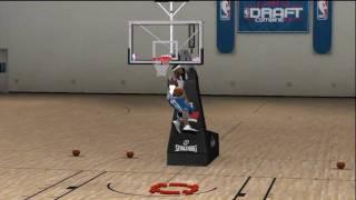 NBA 2k10 Draft Combine (HD) - 360 Between the Legs Dunk