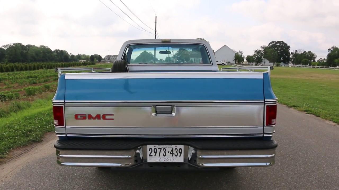 Rare 1975 Gmc Beau James Factory Custom Pickup Truck For Sale Youtube