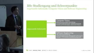 "Prof. Dr. Thomas Klauer - Studiengang ""Angewandte Informatik"" an der Hochschule Mainz"