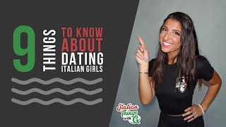 Thinking about dating an italian-american girl? giuliana walks us through important things to note before making the plunge!_____________want enjoy la...