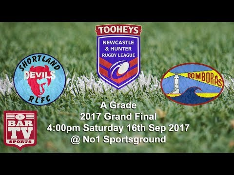 2017 Newcastle & Hunter Rugby League - A Grade Grand Final - Shortland v Fingal Bay