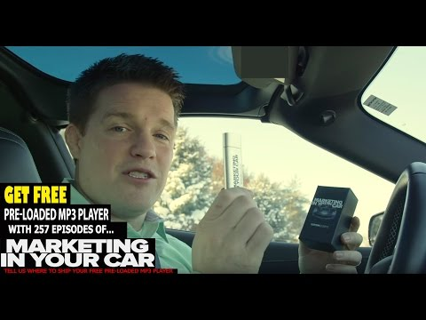 Marketing In Your Car By Russell Brunson,  Get Your FREE MP3 Player Pre-Loaded With 257 Episodes