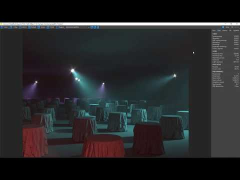 Corona 3.0  - Volume Light + Lightmix + NvidiaAiDenoise - Dailybuild_2018-08-09