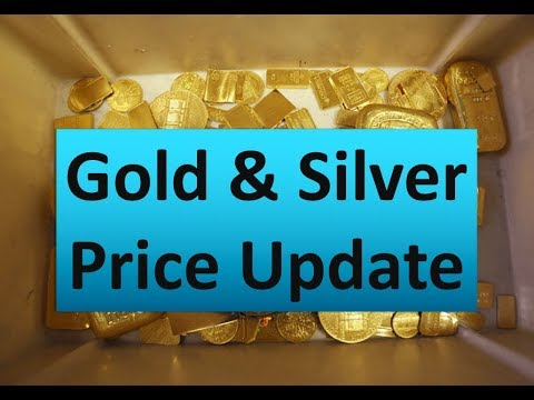 Gold & Silver Price Update - March 14, 2018 + Silver Approaches Breakout