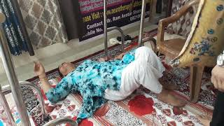 Sciatica Pain Treatment by Ram Avatar Sharma Neurotherapy Expert.. Quick relief in sciatica Pain..