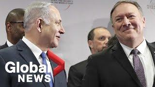 Pompeo and Netanyahu praise relationship between U.S., Israel