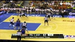 20120725 美國男籃熱身賽 美國 vs 西班牙