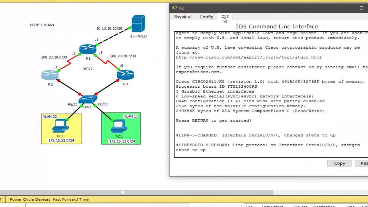 Ccna3 configurando hsrp con vlan