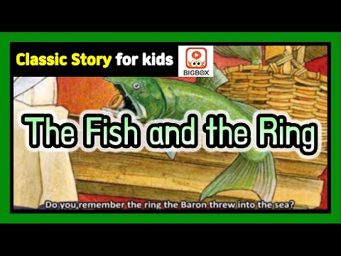 The Fish And The Ring | Classic Story | Classic Fairy Tale | Story | BIGBOX