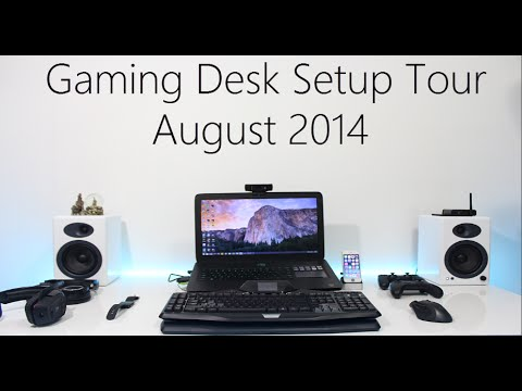 My Laptop Gaming Setup August 2014 - YouTube