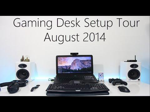 My Laptop Gaming Setup August 2014