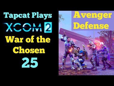 XCOM 2 WotC Part 25: Avenger Defense vs Assassin (4K 60fps)