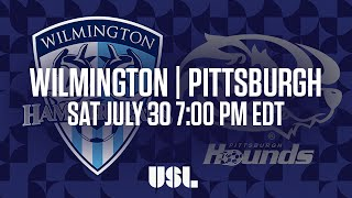 Wilmington Hammerheads vs Pittsburgh Riverhounds full match