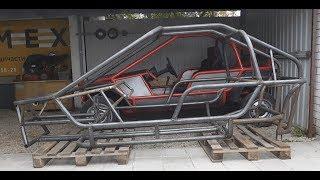 видео: Багги своими руками.Изготовление каркаса.How to make a car.Homemade buggy.