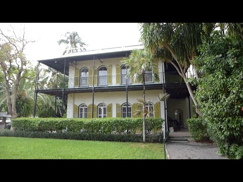 Key West, Florida - Ernest Hemingway House HD (2016)