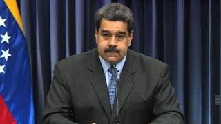 Trash talk: Venezuela's Maduro fires volley at OAS chief
