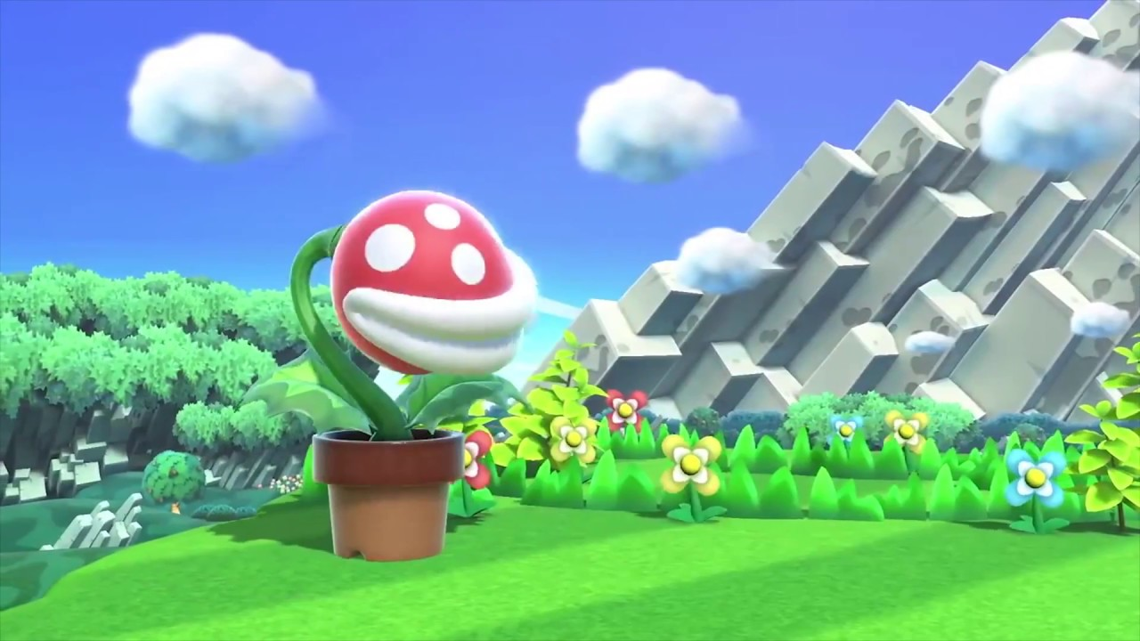 Super Smash Bros Ultimate Piranha Plant Reveal Reaction Meme