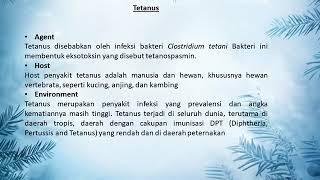 Tetanus.