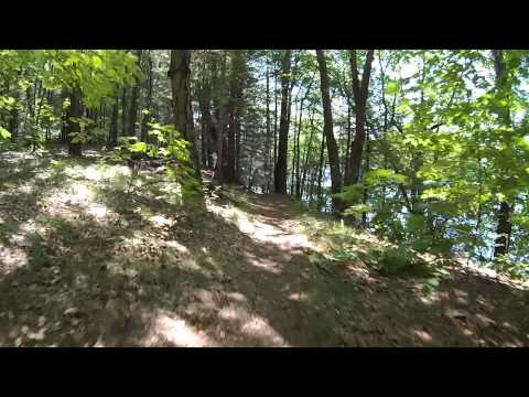 Deer Jump Trail, in Andover, MA.