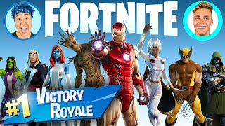 VICTORY ROYALE Using Only MARVEL WEAPONS!! (Ft Bailey Payne)
