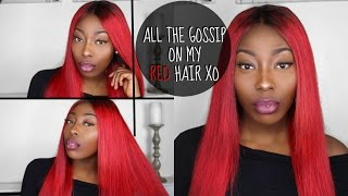 ALL THE GOSSIP ON MY RED HAIR xo | NICOLETHEATV